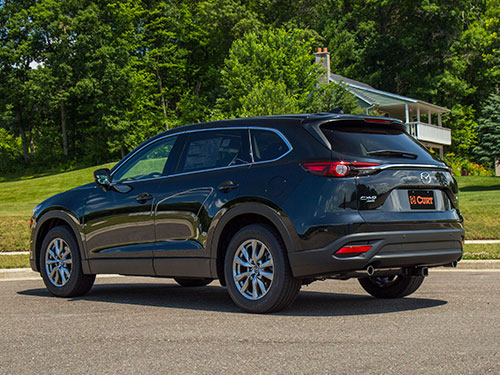 Mazda CX9 Hitch Application - Southside Hitch