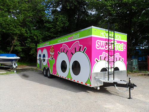Southside Hitch - Sweet Frog Trailer